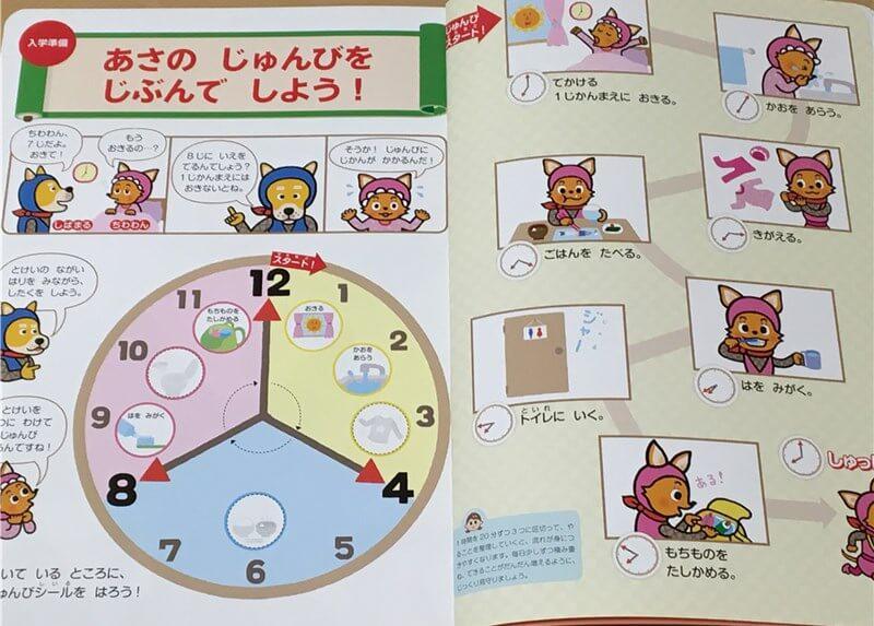 「幼児ポピー」で小学校の入学準備ができる